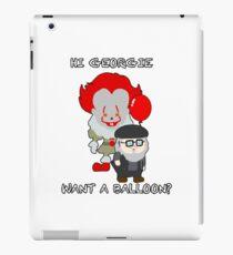 Hi Gerogie, Want a balloon? iPad Case/Skin