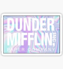 Holographic Dunder Mifflin Sticker