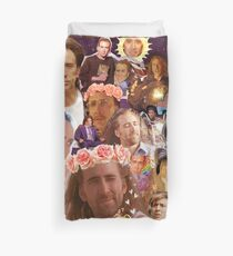 Nic Cage Collage Duvet Cover