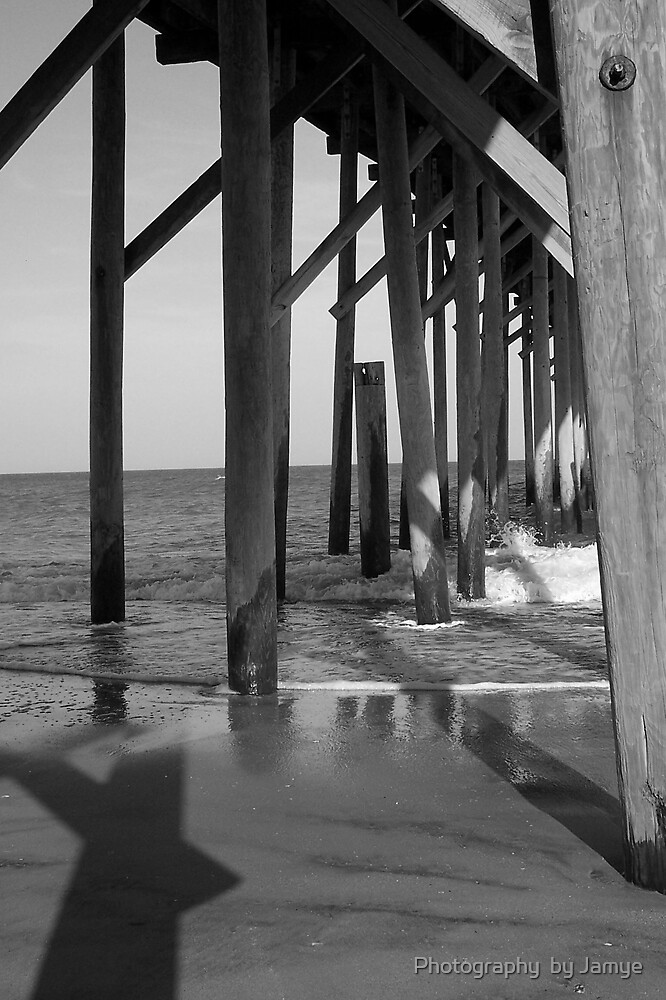 Under the Pier by Photography  by Jamye
