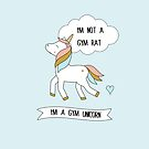 I'm a gym unicorn by grafart