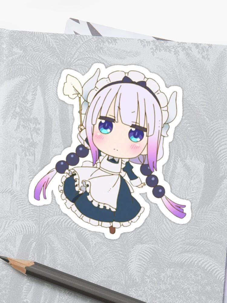 Kanna from Kobayashi-san Chi no Maid Dragon Anime Design   Sticker