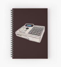 AKAI MPC 2000 Spiral Notebook