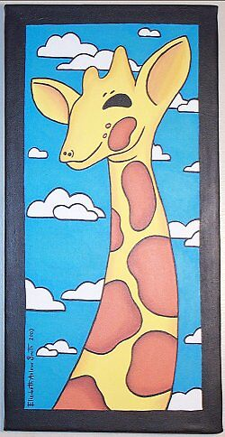 Giraffe Head by Elizabeth Usanmaz