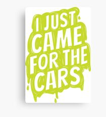 for the cars 3 Canvas Print