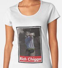 Rich Chigga x Supreme Women's Premium T-Shirt