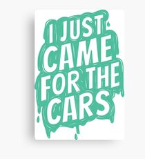 for the cars 4 Canvas Print