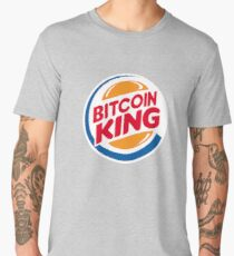 Bitcoin King Men's Premium T-Shirt