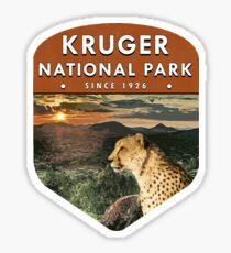 Kruger Nationalpark Sticker