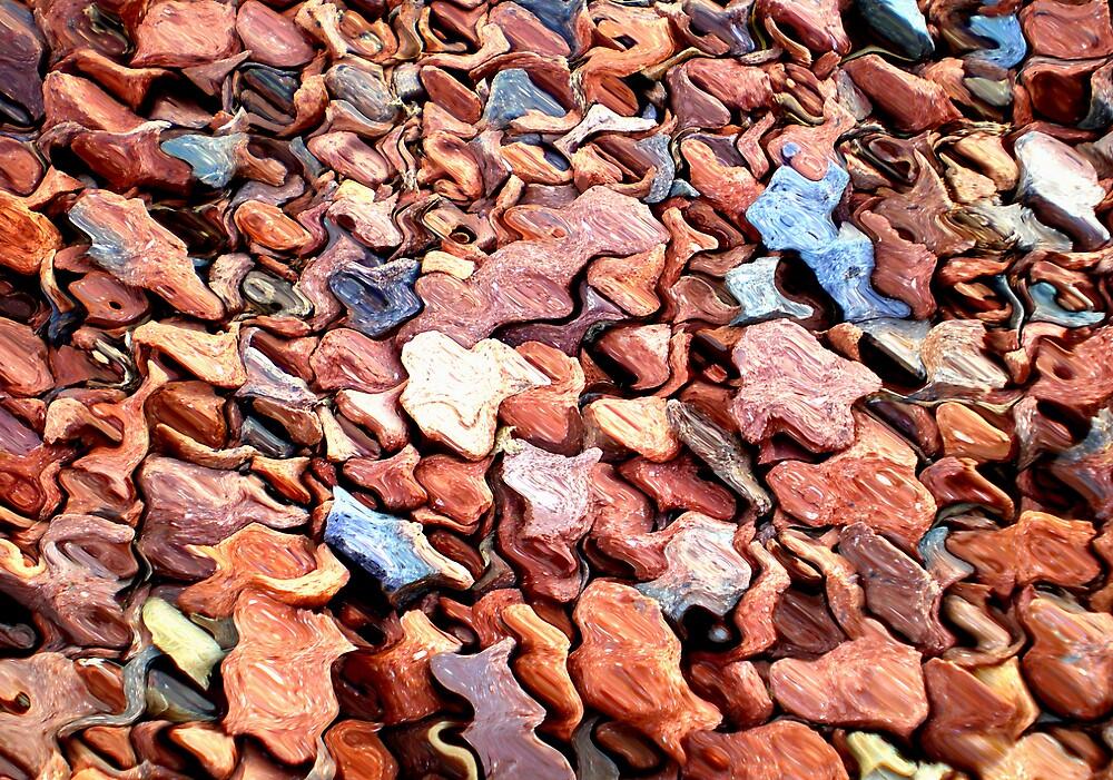 red rocks by stephenmakesart