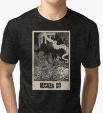 Hüsker Dü (engraving) Tri-blend T-Shirt