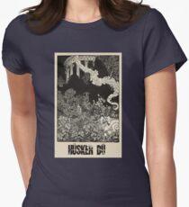 Hüsker Dü (engraving) Women's Fitted T-Shirt