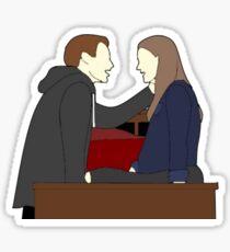 Zoe and Evan Dear Evan Hansen Sticker
