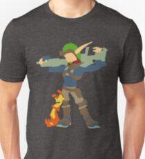 Jak and Daxter - Minimalist Unisex T-Shirt