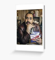 Chabuddy G - People Just Do Nothing Greeting Card