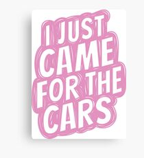 for the cars 5 Canvas Print