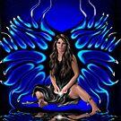 Black 'N Blue Fairy by Danielle Loscig