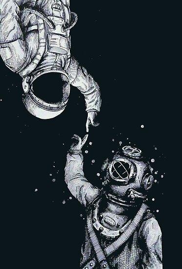 Astronaut und Taucher - Letzte Grenzen von dru1138