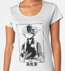 Todoroki Shōto Women's Premium T-Shirt