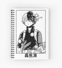 Cuaderno de espiral Todoroki Shōto