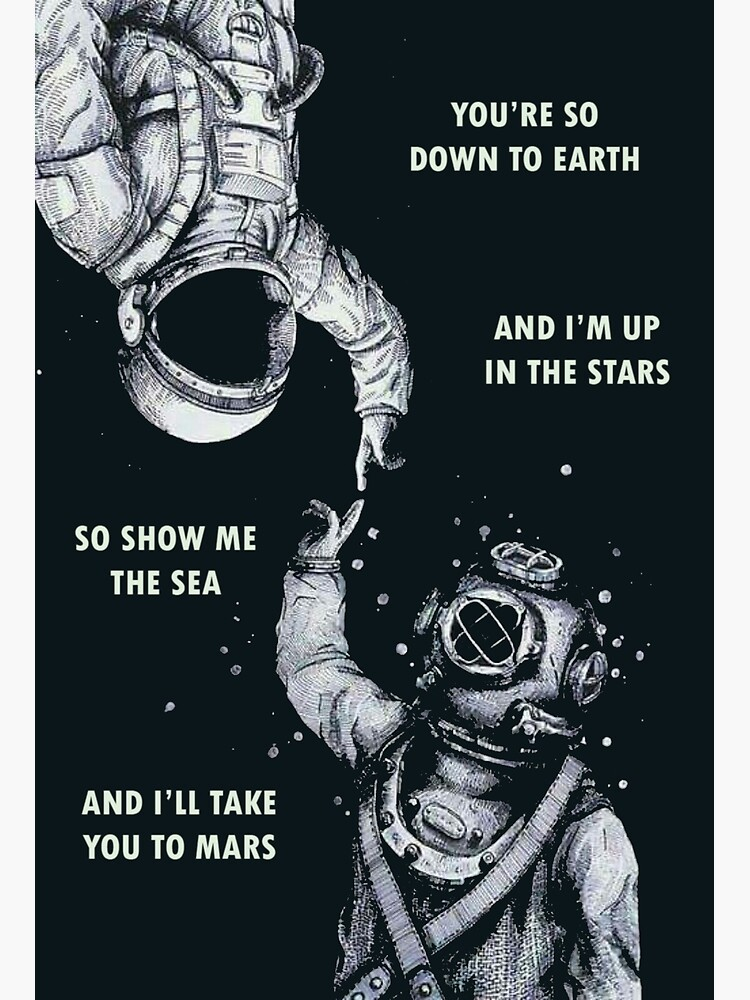 Astronaut and Diver - I'm Up in The Stars by dru1138