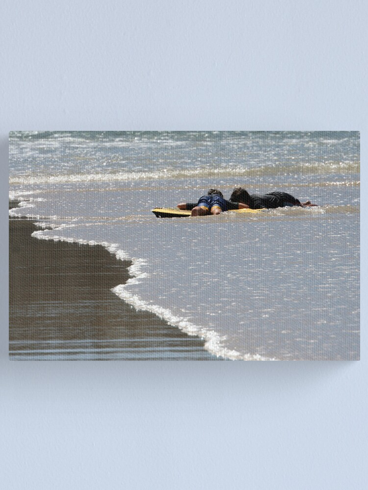 Alternate view of Flat out! Canvas Print