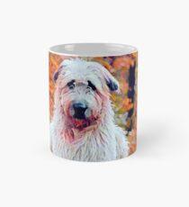 Wolfhound in Fall Mug