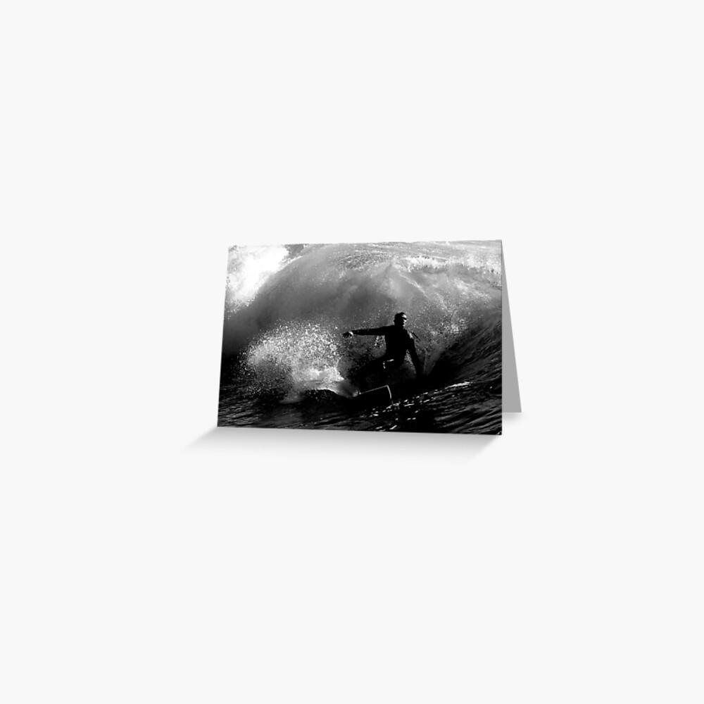 Dawn Surfer #2 Greeting Card