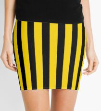 Not Your Father's Tailgate Overalls Mini Skirt