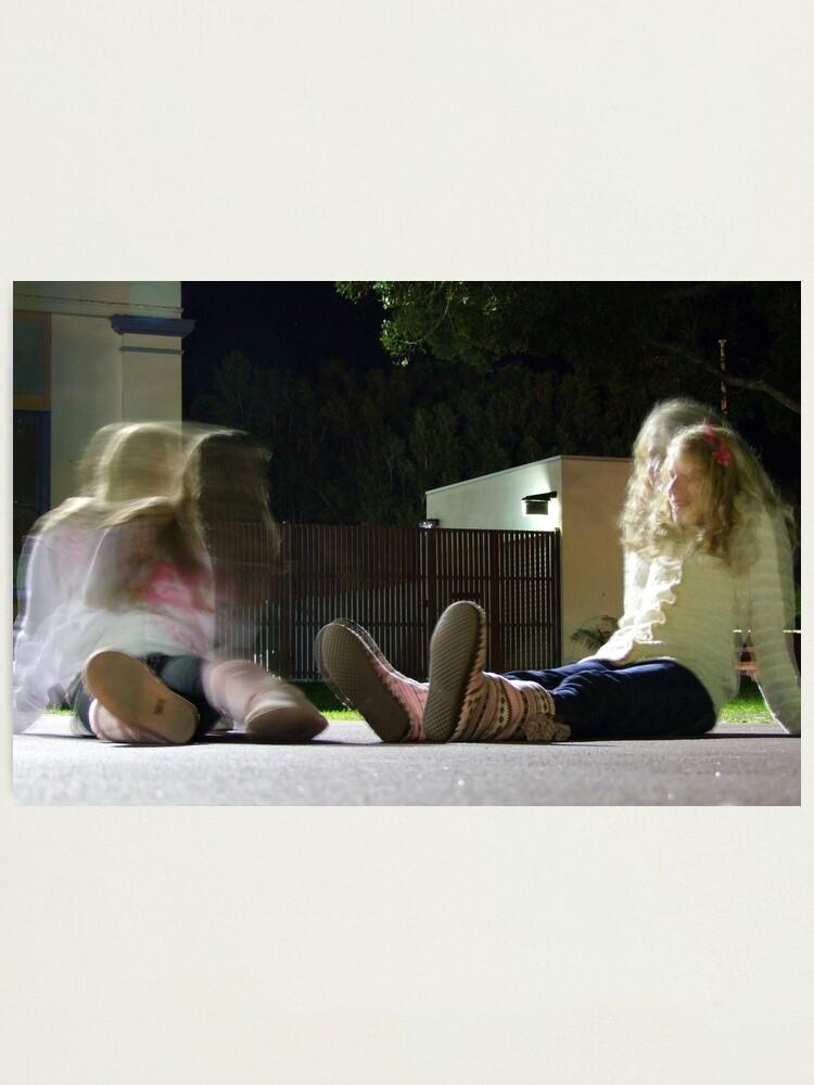 Alternate view of Girl Talk Photographic Print