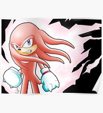 Hyper Knuckles the Echidna Poster