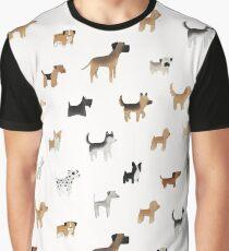 Camiseta gráfica Patrón Doggo