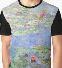 Claude Monet - Seerosen Grafik T-Shirt