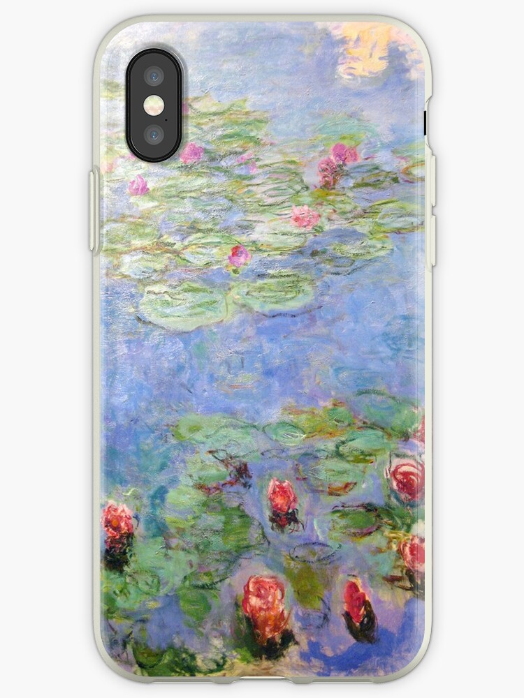 on sale 69796 06dfd 'Claude Monet - Water Lilies' iPhone Case by mosfunky
