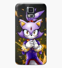 Blaze the Cat: Fire Within Me Case/Skin for Samsung Galaxy