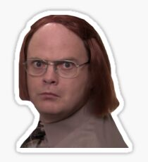 Dwight Schrute as Meredith Sticker