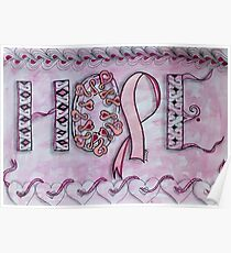 Hope (Breast Cancer Awareness) Poster