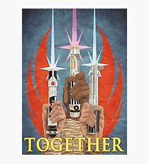 Together! - Rebel Alliance Propaganda Photographic Print