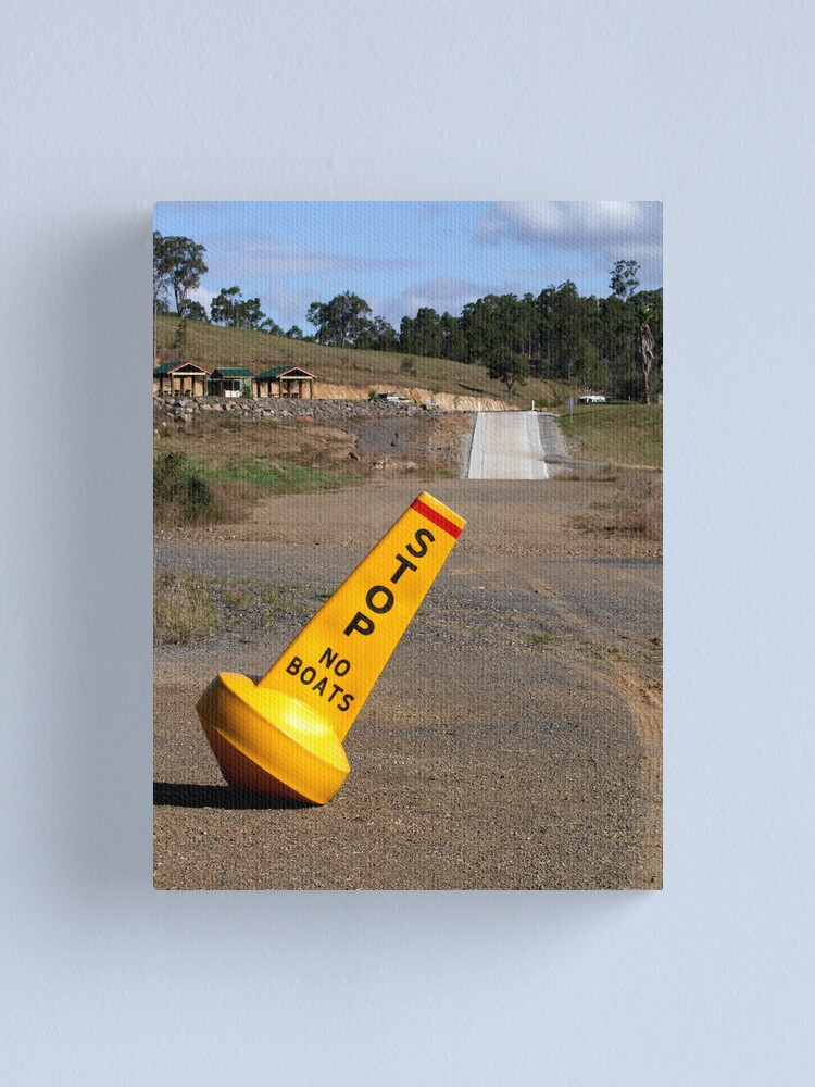 Alternate view of Dam Dry! Canvas Print