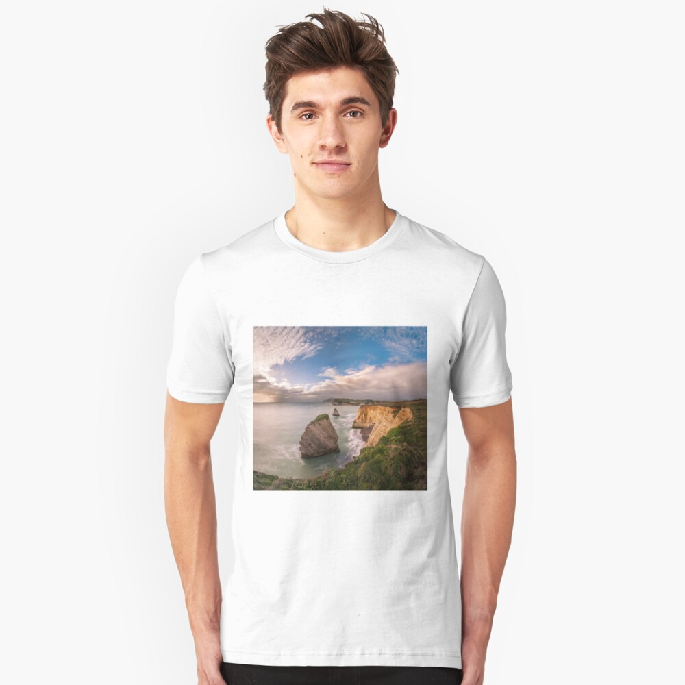 Freshwater Bay Panorama Slim Fit T-Shirt