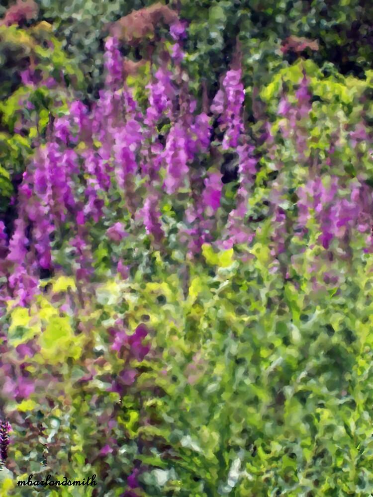 Michigan Wild Flower Impression by Michelle BarlondSmith