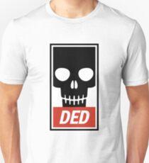 Ded skull poster T-Shirt