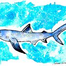 Blue Shark by Autumn Linde