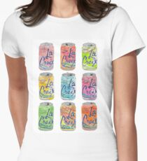 La Croix Cans  Women's Fitted T-Shirt