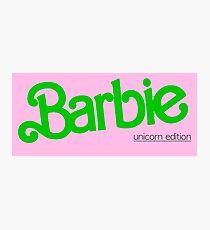 Barbie #3 Photographic Print