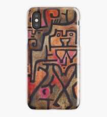 Forest Witches 1938 Paul Klee iPhone Case/Skin