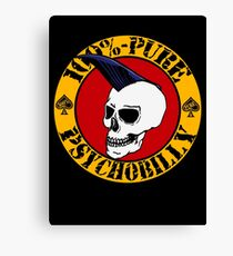 Pure Psychobilly Canvas Print
