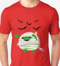 Halloween - Fun and Cute Mochi Mummy T-Shirt