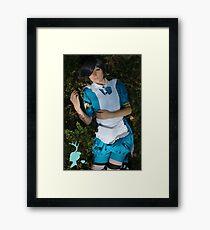 Awakening In Wonderland Framed Print