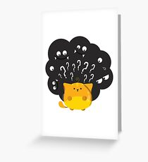 "Halloween - ""Guess Who"" Greeting Card"